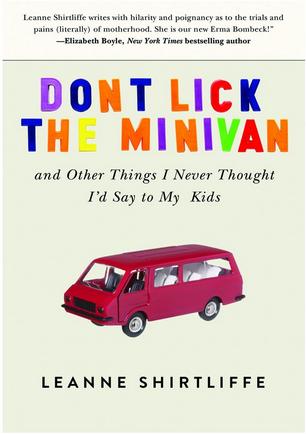 Don't Lick the Minivan cover