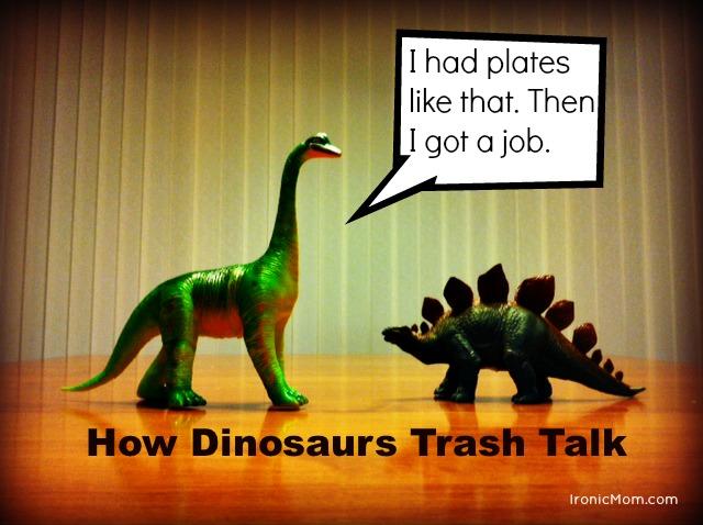 Dinosaur Trash Talk
