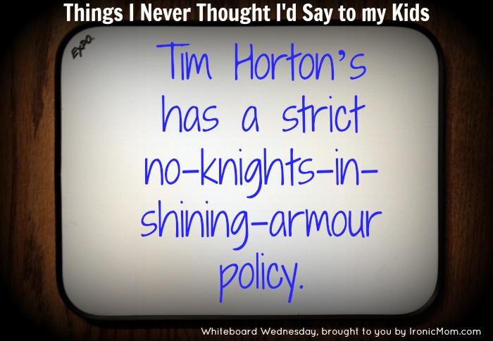 WW knight in shining armour