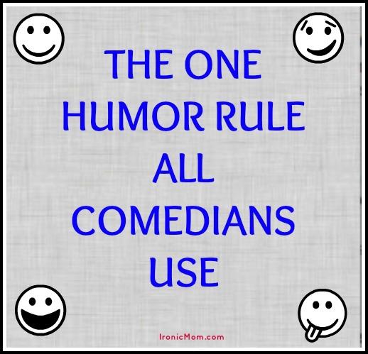 One Humor Rule