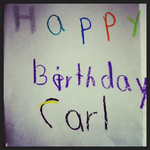 Happy Bday Carl