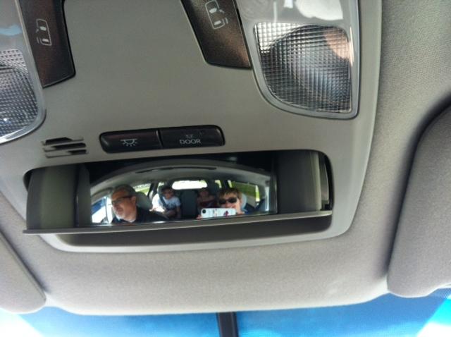Toyota Spy Mirror
