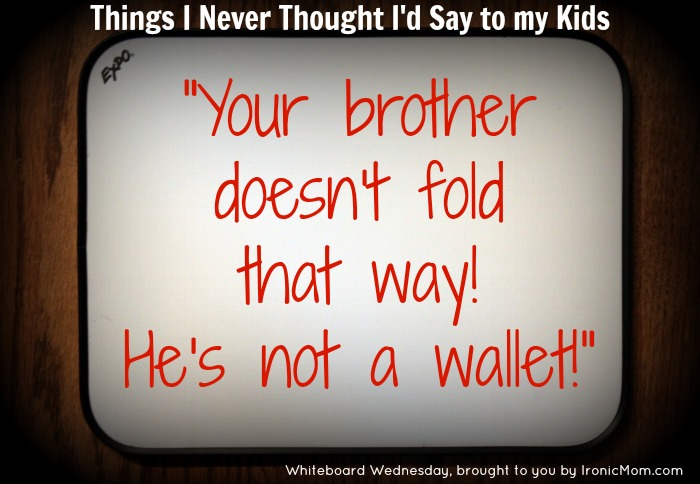 WW Bro not a wallet
