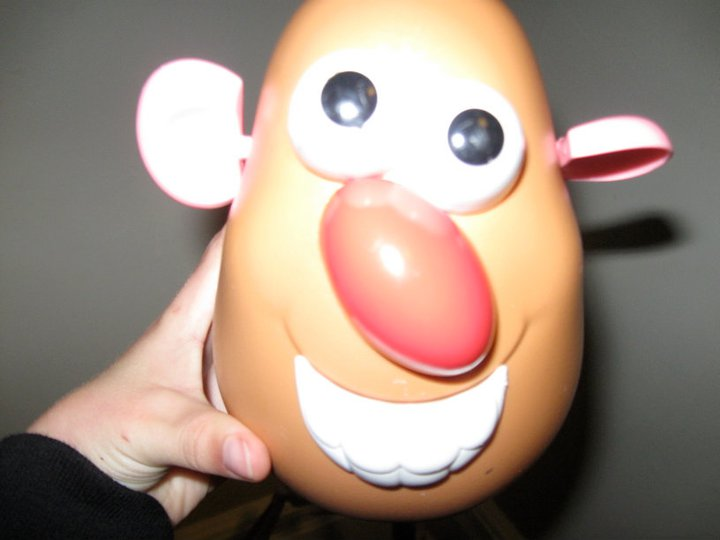 Head shot-potato head