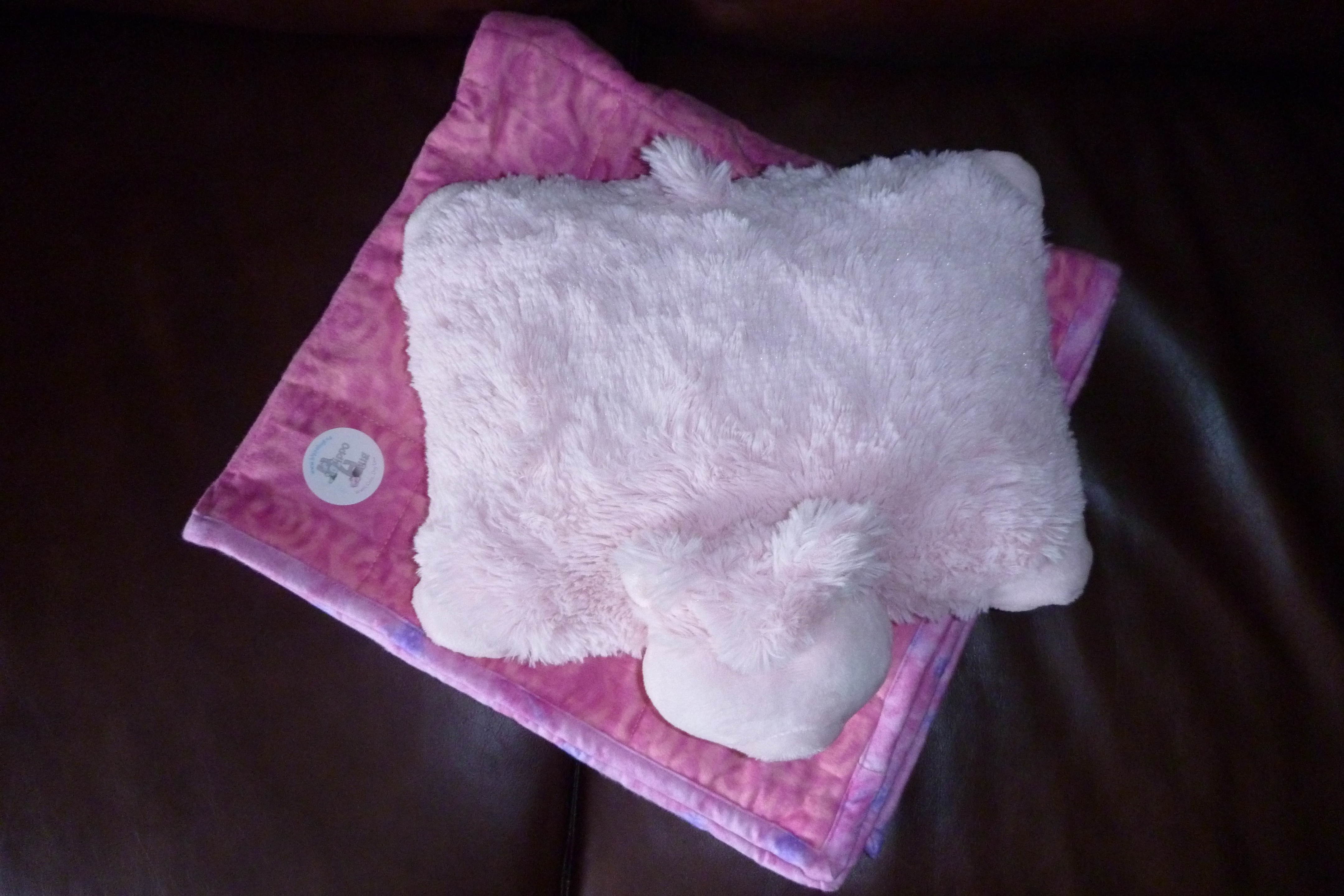 Hippo Hug Weighted Blanket and Weighted Animal