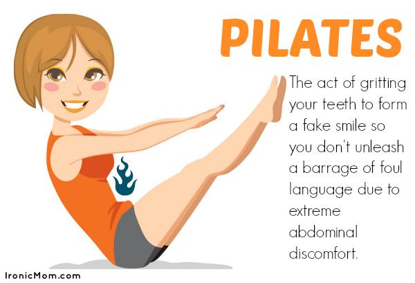 Pilates Humor
