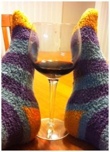 Socks wine