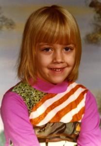 Leanne in Kindergarten