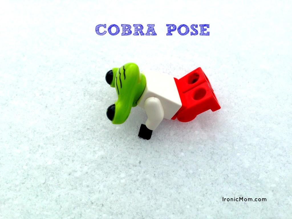 Lego Yoga - Cobra Pose