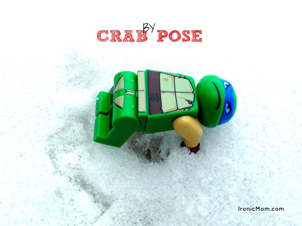 Lego Yoga - Crab Pose