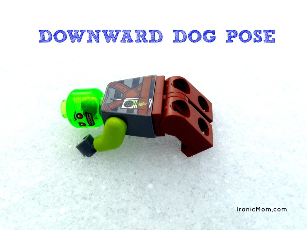 Lego Yoga - Downward Dog Pose