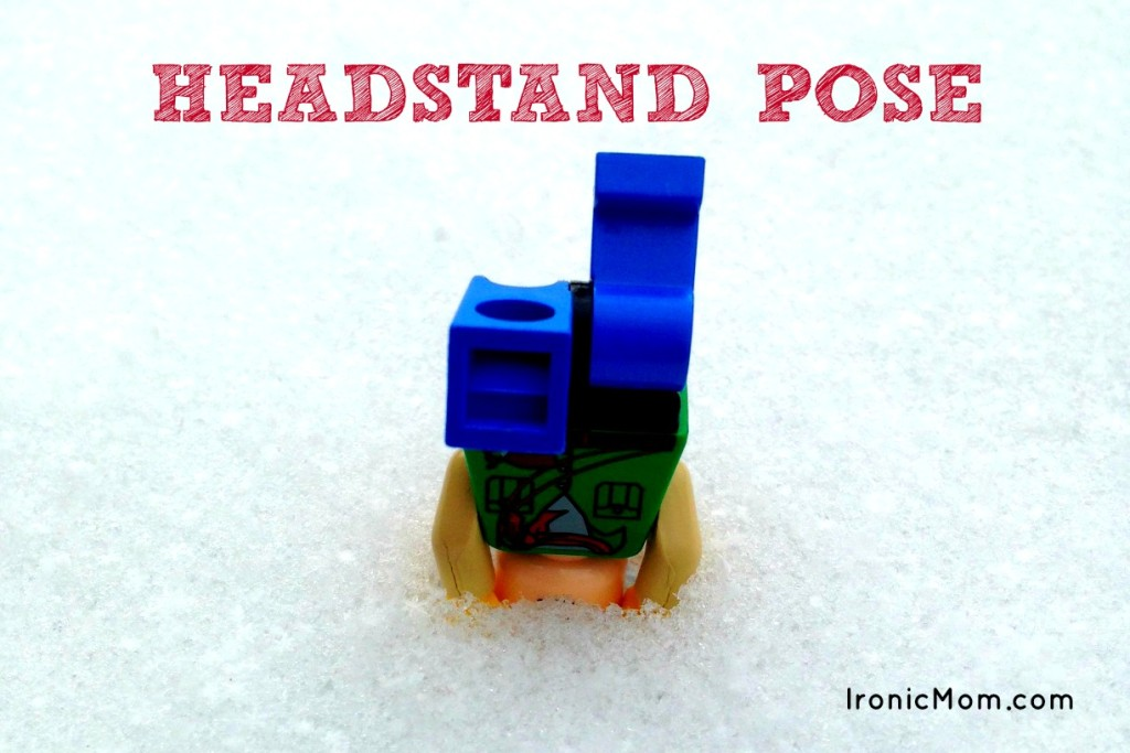 Lego Yoga - Headstand Pose