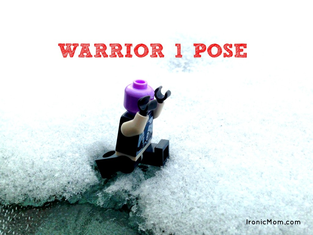 Lego Yoga - Warrior 1 Pose
