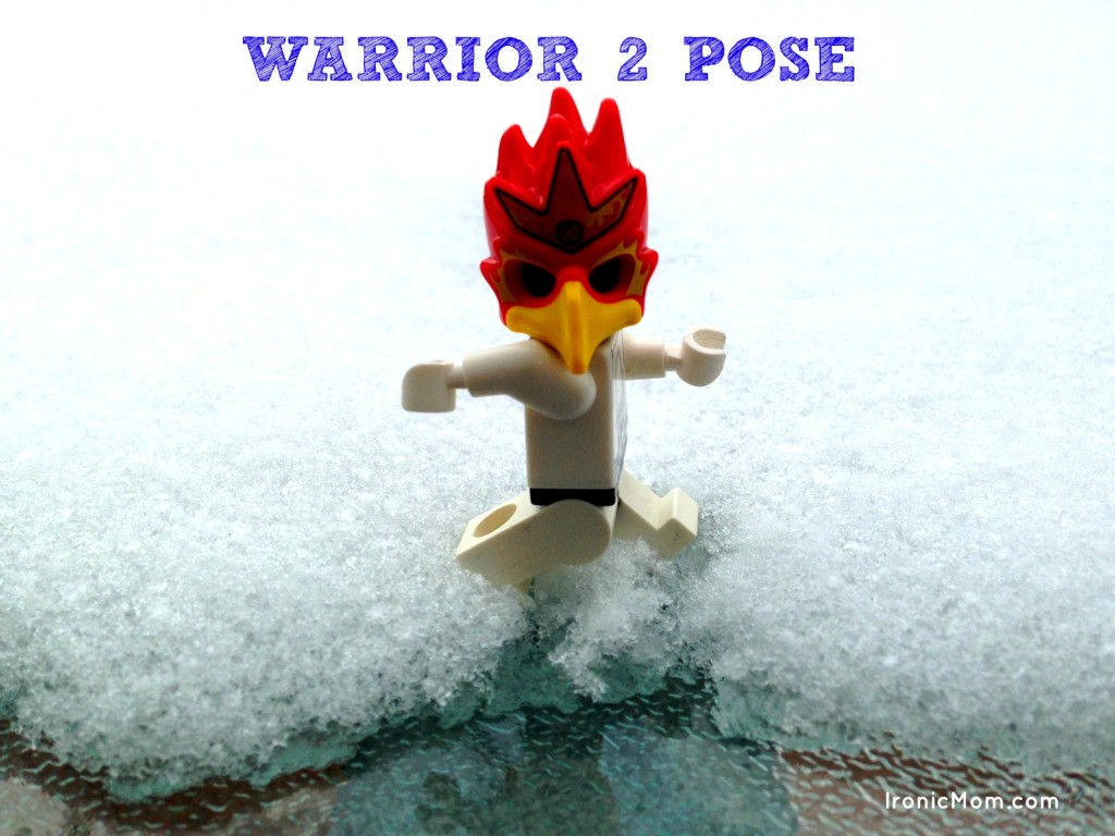 Lego Yoga - Warrior 2 Pose