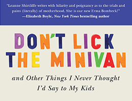 Don't Lick The Minivan - Leanne Shirtliffe