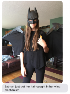 Every girl needs bat wings